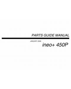 Konica-Minolta bizhub C450P ineo Parts Manual
