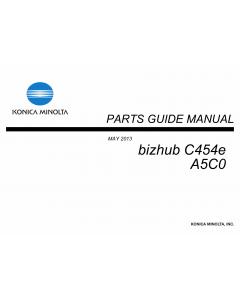 Konica-Minolta bizhub C454e Parts Manual