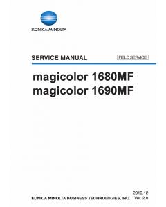 Konica-Minolta magicolor 1680MF 1690MF FIELD-SERVICE Service Manual