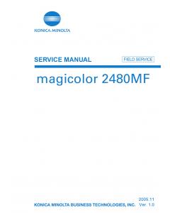 Konica-Minolta magicolor 2480MF FIELD-SERVICE Service Manual