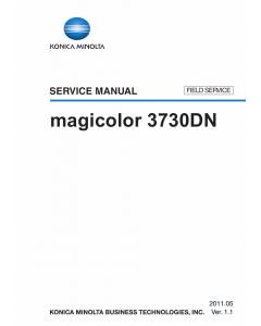 Konica-Minolta magicolor 3730DN FIELD-SERVICE Service Manual