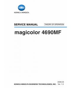Konica-Minolta magicolor 4690MF THEORY-OPERATION Service Manual
