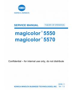 Konica-Minolta magicolor 5550 5570 THEORY-OPERATION Service Manual