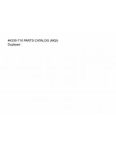 Konica-Minolta magicolor 7300 Duplexer Parts Manual