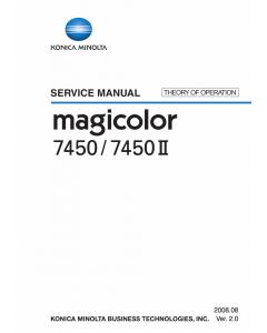 Konica-Minolta magicolor 7450 7450II THEORY-OPERATION Service Manual