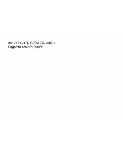 Konica-Minolta pagepro 1250E 1200W Parts Manual