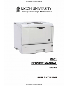 RICOH Aficio SP-4200N M001 Service Manual