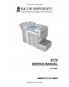 RICOH Aficio SP-8200DN G179 Service Manual