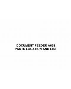 RICOH Options A628 DOCUMENT-FEEDER Parts Catalog PDF download