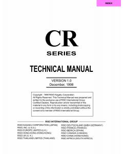 RISO CR 1610 1630 TECHNICAL Service Manual