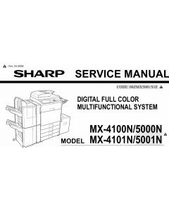 SHARP MX 4100 4101 5000 5001 N Service Manual