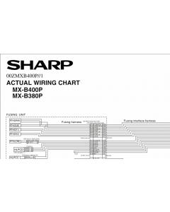 SHARP MX B400 B380 P Wiring Chart Diagrams