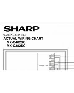 SHARP MX C382 C402 SC Wiring Chart Diagrams