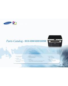 Samsung Digital-Laser-MFP SCX-3200 3205 3205W Parts Manual