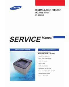 Samsung Digital-Laser-Printer ML-2855 2855ND Parts and Service Manual