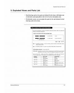 Samsung Laser-Printer ML-1650 Parts Manual