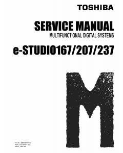 TOSHIBA e-STUDIO 167 207 237 Service Manual