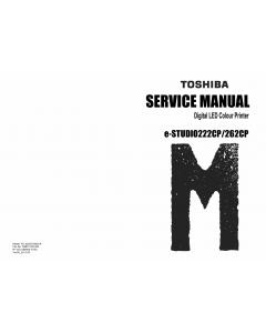 TOSHIBA e-STUDIO 222CP 262CP Service Manual