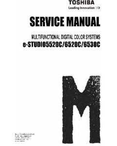 TOSHIBA e-STUDIO 5520C 6520C 6530C Service Manual