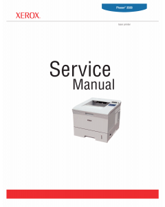 Xerox Phaser 3500 Parts List and Service Manual