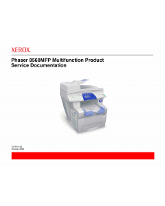 Xerox Phaser 8560-MFP Parts List and Service Manual