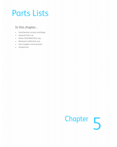 Xerox WorkCentre 3045 Phaser-3010 3040 Parts List Manual