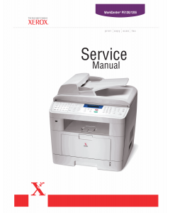Xerox WorkCentre PE-120 Parts List and Service Manual
