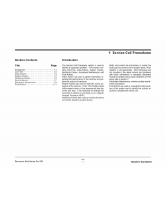 Xerox WorkCentre Pro-745 Parts List and Service Manual
