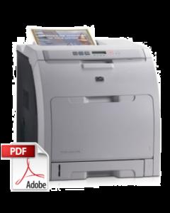 HP Color LaserJet 2700 Service Manual - Repair Printer