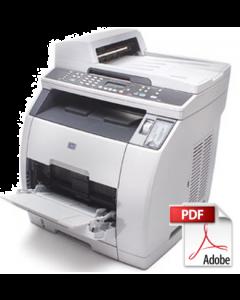 HP Color LaserJet 2820 2830 2840 Service Manual - Repair Printer