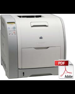 HP Color LaserJet 3500 3550 3700 Service Manual - Repair Printer