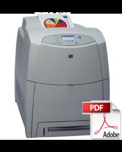 HP Color LaserJet 4600 Service Manual - Repair Printer
