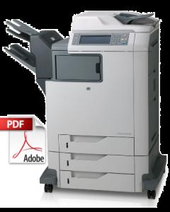 HP Color LaserJet 4730 MFP Service Manual - Repair Printer