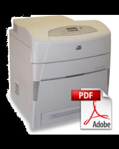 HP Color LaserJet 5500 5550 Service Manual - Repair Printer