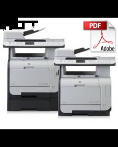HP Color LaserJet CM2320 MFP Service Manual - Repair Printer