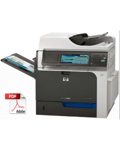 HP Color LaserJet CM4540 MFP Service Manual - Repair Printer