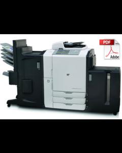 HP Color LaserJet CM8060 CM8050 MFP Service Manual - Repair Printer