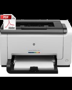 HP Color LaserJet CP1020 CP1025 Service Manual - Repair Printer