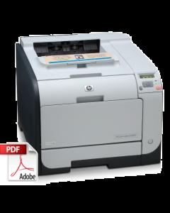 HP Color LaserJet CP2025 CP2020 Service Manual - Repair Printer