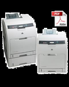 HP Color LaserJet CP3505 3000 3600 3800 Service Manual - Repair Printer