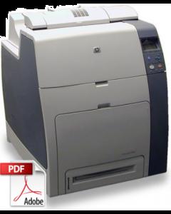 HP Color LaserJet CP4005 4700 Service Manual - Repair Printer