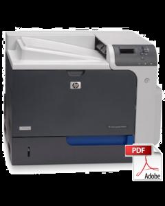 HP Color LaserJet CP4020 CP4520 Service Manual - Repair Printer