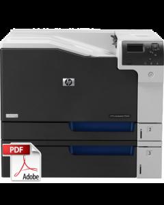 HP Color LaserJet CP5520 CP5525 Service Manual - Repair Printer
