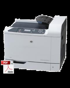 HP Color LaserJet CP6015 Service Manual - Repair Printer