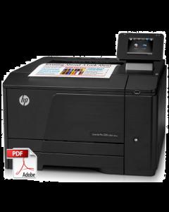 HP Color LaserJet M251 Service Repair Manual - Repair Printer