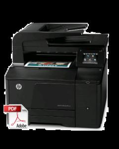 HP Color LaserJet M276 Service Repair Manual - Repair Printer