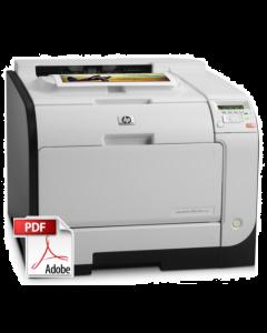 HP Color LaserJet M351 M451 Service Manual - Repair Printer