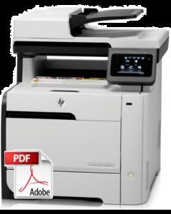 HP Color LaserJet M375 M475 Service Manual - Repair Printer