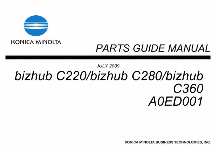 konica minolta bizhub c220 installation manual