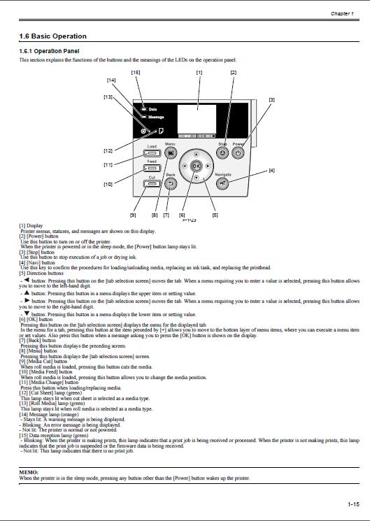 Canon Imageprograf Ipf6300s Service Manual